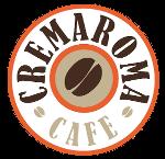 cremaromacafe logo